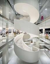 江西箱体旋转楼梯制作公司图片