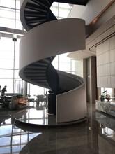 深圳箱体旋转楼梯安装服务图片