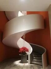 重庆箱体旋转楼梯设计价格图片