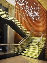江西医院直双梁玻璃楼梯设计团队图片