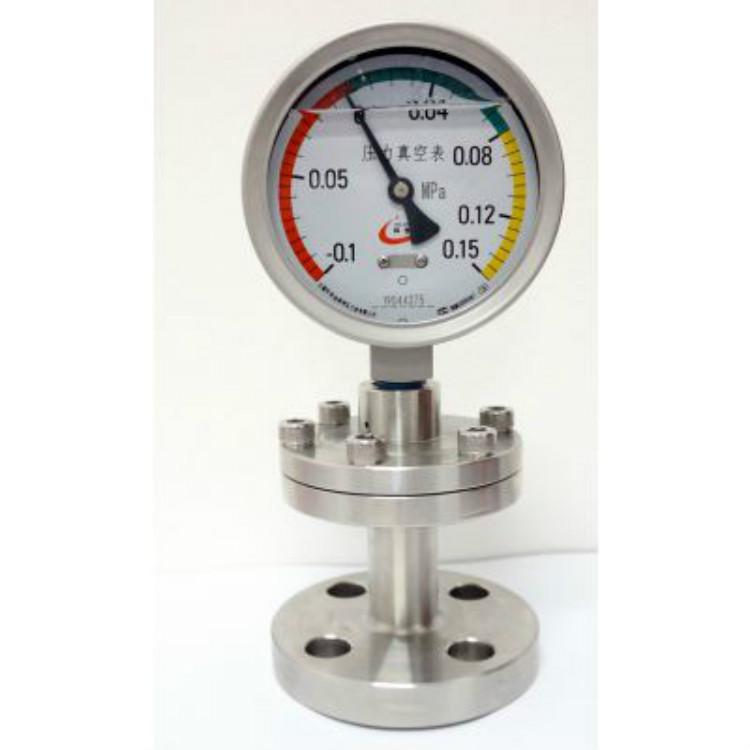 供应皖控YMF-150衬四氟防腐隔膜压力表