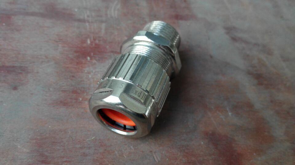 温州乐清市博太科电气防爆铠装填料函IP67ExdIIC黄铜材质
