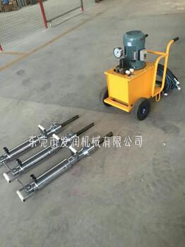 鋼筋混凝土分裂機工作效率