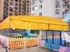 移動推拉雨棚大型倉庫帳篷運動場籃球篷消毒防疫帳篷