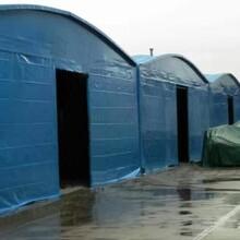 大型仓库防雨遮阳棚家用车库遮阳棚消毒防疫帐篷篮球棚可推拉图片