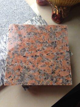 石材枫叶红源头厂家自有矿山可定制尺寸
