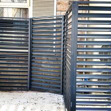 益陽可折疊空調格柵安裝,空調圍擋護欄生產廠家圖片