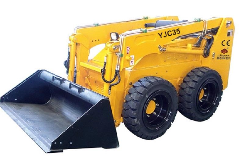遥控滑移装载机,智造大观,载重0.5吨,35滑移装载机