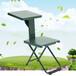 华永家具HY21多功能写字椅士兵学习凳野战兵户外两用折叠椅