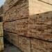 铁杉建筑木方尺寸标准稳定材质坚实四面见线带皮少