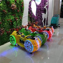 易欣儿童太子摩托车广场彩灯玩具车双人户外电动摩托车