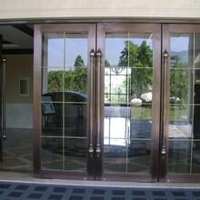 广西玻璃感应门供货商图片