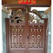 桂林庭院铝门图片