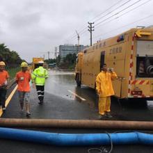 广州黄埔区抽水排涝服务图片
