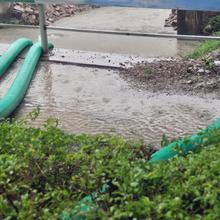 广州抽水排涝施工图片