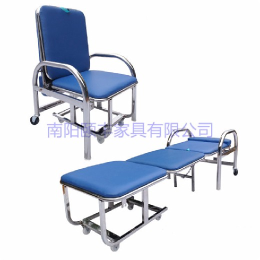 陪護椅不銹鋼陪護椅鋼制陪護椅醫用陪護椅醫院不銹鋼陪護椅F-P7