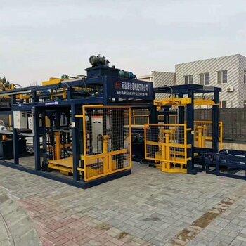 水泥磚自動碼垛機全自動水泥磚機廠家安徽水泥磚機