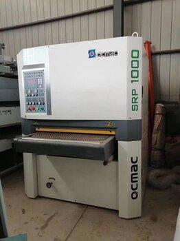 二手千川SRP1000定尺砂光機出售九成新二手木工設備