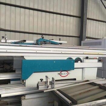 鵬發二手木工機械出售九成新馬氏MJ6132D精密鋸帶45度精密裁板鋸