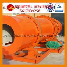 复合肥生产设备滚筒造粒机喷浆造粒工艺
