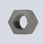 万千工品六角螺母DIN934紧固件标准件