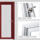 铝合金洗手间门图