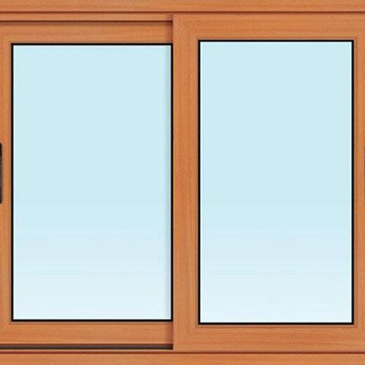 铝合金平开窗图