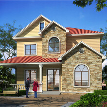 陜西漢中輕鋼別墅,農村輕鋼別墅戶型圖圖片