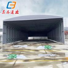 廣州海珠固定帆布雨棚/戶外商鋪遮陽蓬加厚材質銷售圖片