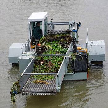 景区河面保洁船漂流树枝打捞船自动水面清漂船
