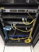 三盾云安弱電機房,鄭州UPS電源系統安裝支架安裝圖片