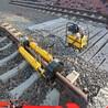铁路机械钢轨校正机