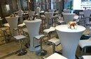 上海洽谈桌椅各款沙发吧桌吧椅铁马帐篷租赁图片