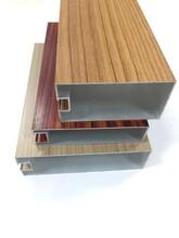 鋁合金工業鋁型材幕墻鋁方通定制圖片