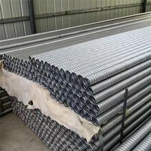 石柱橋梁塑料70波紋管行情價格圖片