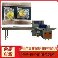 佛山多功能橙子桔子自動枕式伺服包裝機農業水果包裝機械設備