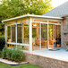 鋁合金組合陽光房平移天窗