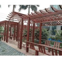 平顶山庭院葡萄架,铝合金花架图片