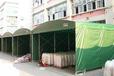 涂层帆布定做盖布防火帆布批发绿色PVC涂塑布