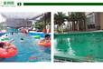 养虾池子绿色养鱼养海藻池子绿色鱼池帆布水池