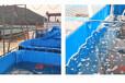 防防水帆布蓬布定制專業的防水布專業定做雨蓬布