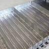不銹鋼鏈板輸送帶耐高溫沖孔鏈板流水線板鏈傳送帶定做