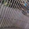方格網帶輸送帶不銹鋼鏈條片網帶清洗機輸送帶