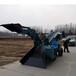 輪式皮帶礦用出渣扒渣機ZWY-70井下出渣用操作靈活