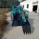 礦用巷道60型扒渣機輪式行走頂管扒渣機坑道清理扒渣機