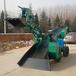 遼寧丹東礦用出渣扒渣機實心膠輪后尾可折疊
