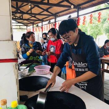 合肥藍山灣大鍋灶做飯體驗,藍山灣大鍋灶做飯人均低至60
