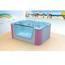 嬰幼兒童水上SPA泳池母嬰店嬰幼兒童亞克力多功能一體池圖片