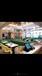 港式茶餐廳餐桌椅茶餐廳卡座沙發尺寸卡座沙發圖片定制