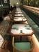 沙發卡座廠家定制沙發卡座顏色尺寸餐廳靠墻沙發卡座